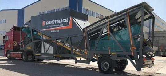 Mobil betonüzemek
